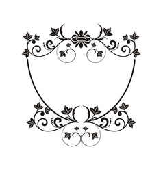 Luxury crest logo hotel restaurant vector