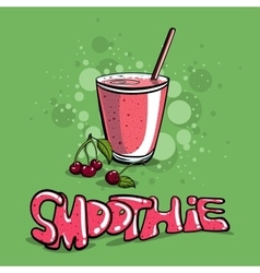 Smoothie vector image