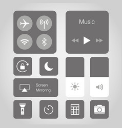 app touchscreen smart phone mobile icon vector image