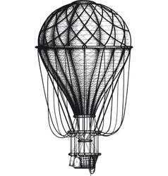 Old Air Ballon vector image