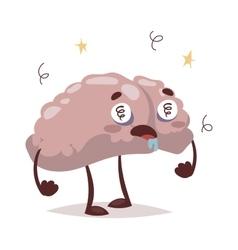 Bad brain and headache vector image vector image