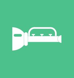 icon children trumpet vector image vector image