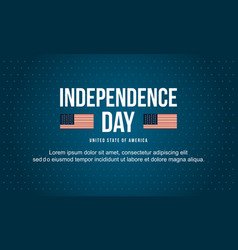 Banner design independence day collection vector