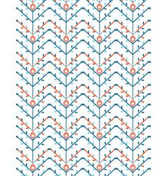 Geometric patterns leaf vector