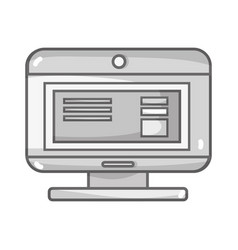 Grayscale computer technology with document data vector