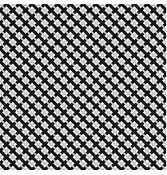 grid mesh pattern with interlacing lines cross x vector image