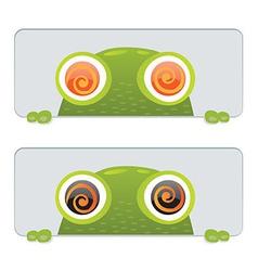 Hypno Frog vector