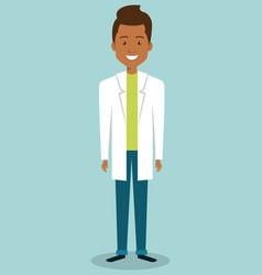 Man professional doctor avatar vector
