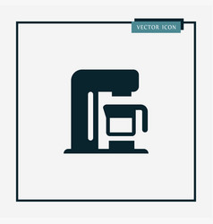 mixer icon simple vector image