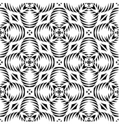 seamless texture tribal geometric pattern vector image