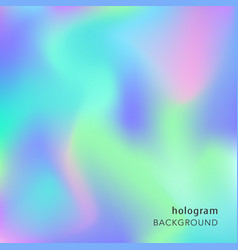holographic abstract background cosmic texture vector image vector image