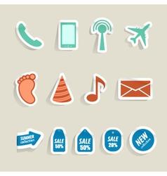 Internet web icons vector