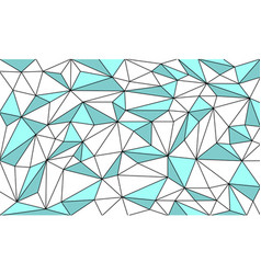 Low poly art outlined graphic background vector