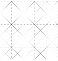 Repeatable detailed grid mesh pattern black and vector