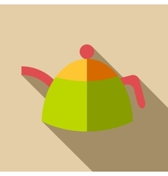 Kettle icon flat style vector image