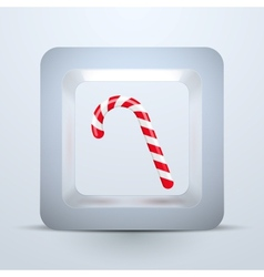 Symbol candy of Christmas and New Year vector image vector image