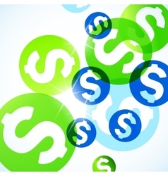 Abstract background money vector