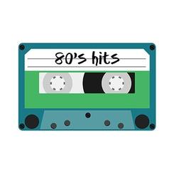 Cassette 80s vector