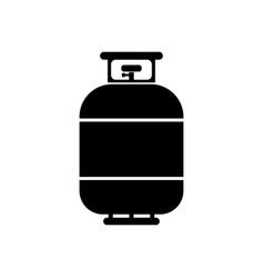 Flammable gas tank simple modern icon design vector