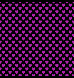 Seamless heart pattern background - love concept vector