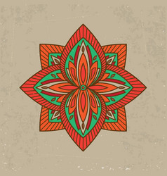 tattoo henna design vector image