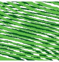 Abstract green zig-zag strip stock vector