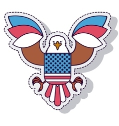 eagle american isolated icon vector image