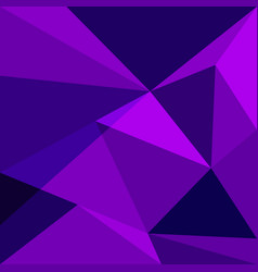 purple low poly design element background vector image