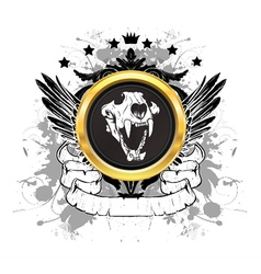 vintage tshirt design vector image vector image