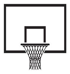 Basketball1 vector image