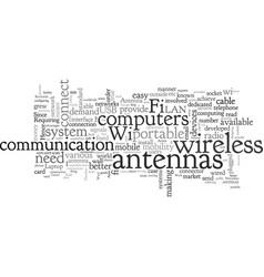 Can i build my wifi antenna vector
