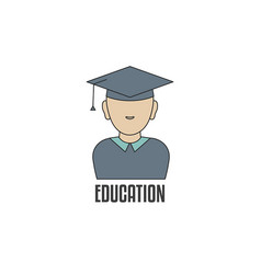 education logo template education logo template vector image