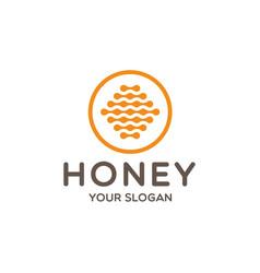Honey logo icon vector