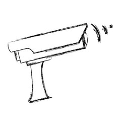surveillance camera security device protection vector image