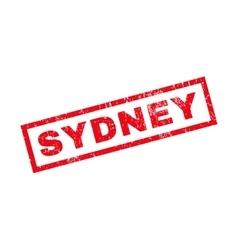 Sydney Rubber Stamp vector