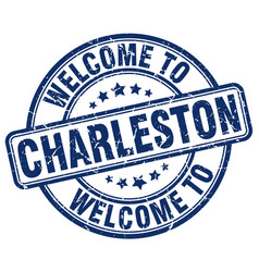 Welcome to charleston vector