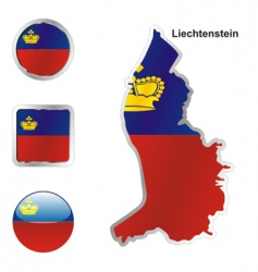 lichtenstein vector image vector image