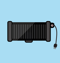 electric grill vector image