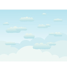 Background the sky2 vector image vector image