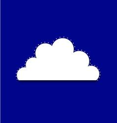 Cloud royal vector image