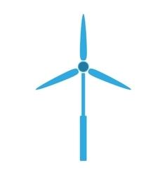 Eolic energy wind vector