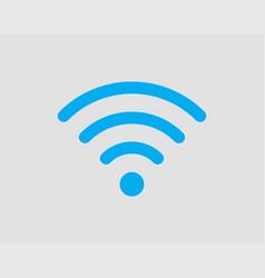 free wifi icon connection zone wifi symbol radio vector image