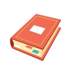 Isometric book icon education symbols logo vector