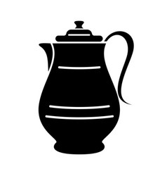 Jug milk or water canister pitcher simple logo vector