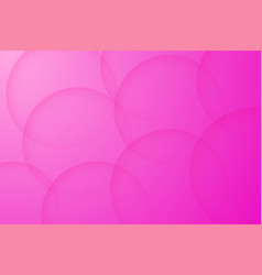 Modern pink backgrounds abstract 3d circle vector