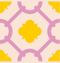 tile decorative floor tiles pattern vector image