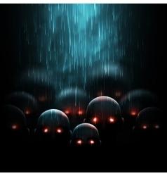 Zombie apocalypse vector image vector image