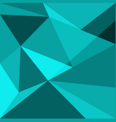 green low poly design element background vector image vector image