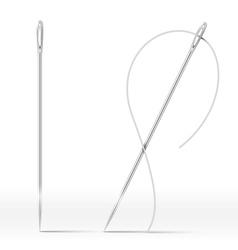 Isolated Needle vector image