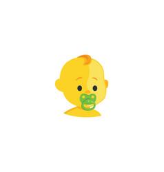 Ba isolated icon baby icon vector